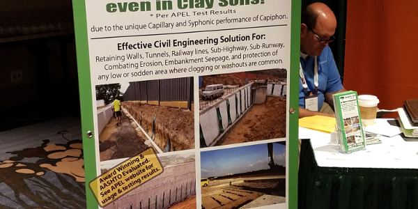 Capiphon USA attends AASHTO Annual Conference and Trade Fair in Atlanta, GA, September 2018
